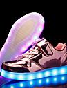 Fete Pantofi PU Toamnă Iarnă Pantofi Usori Adidași LED Pentru Casual Party & Seară Auriu Argintiu Roz