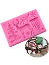 Materiale pentru torturi Biscuiți Ciocolatiu Pentru ustensile de gătit pentru ciocolată tort pentru Cookie Cauciuc siliconat Silicon