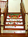Jul Mode Landskap Väggklistermärken Väggstickers i 3D Dekrativa Väggstickers,Vinyl Hem-dekoration vägg~~POS=TRUNC For Vägg
