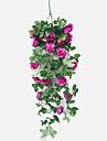 Konstgjorda blommor 1 Gren Europeisk Stil / Pastoral Stil Roser korg med blommor