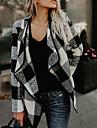 Pentru femei Palton Vintage, Plisat