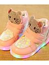 Fete Pantofi PU Toamnă Iarnă Confortabili Adidași Pentru Casual Alb Fucsia Roz