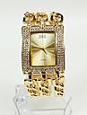 Pentru femei Ceas Brățară / Ceas La Modă Japoneză Ceas Casual Aliaj Bandă Sclipici Auriu
