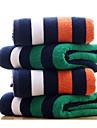 Stilul proaspăt Prosop de Baie,Cu Dungi Calitate superioară Poli/Bumbac Prosop