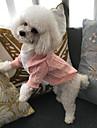 Pisici Câine Haine Pulovere Hanorace cu Glugă Holiday Decorations Îmbrăcăminte Câini Alb Rosu Roz Bumbac Costume Pentru animale de