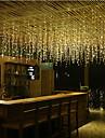 4m Fâșii de Iluminat 96 LED-uri Dip Led Alb Cald / Alb Rece / Albastru De Legat 110-120 V 1 buc / IP44