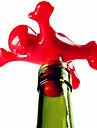 1pc kreativ glad man kille plast vinflaska stopper nyhet bar verktyg korkflaska plug cap sealer