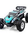 Radiostyrd bil K24-1 2.4G Stadsjeep 4WD Höghastighets Driftbil Racing Bil Monster Truck Bigfoot Truggy SUV (Längdåkning) 01:24 Borste