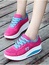 Pentru femei Pantofi Tul Vară / Toamnă Confortabili Adidași de Atletism Toc Drept Vârf rotund Fucsia / Verde / Albastru