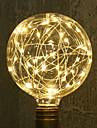 1 buc 3W 300 lm E26/E27 Bec Filet LED G95 33 led-uri LED Integrat Decorativ Alb Cald AC 85-265V