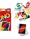 Kortspel UNO Leksaker Stress och ångest Relief Dekompressionsleksaker Rektangulär Familj Bitar Födelsedag Present