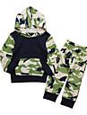 Bebelus Băieți Set Îmbrăcăminte Imprimeu Bumbac Zilnic Ieșire Toate Sezoanele Manșon Lung Simplu Casual Trifoi