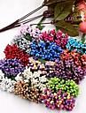 12 Gren Plast Annat Annat Bordsblomma Konstgjorda blommor