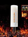 1st 2W 450-480 lm G4 LED-lampor med G-sockel 36 lysdioder SMD 2835 Dekorativ Gul