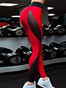 Pentru femei - Bloc Culoare, Imprimeu Brodat Talie Înaltă Sport Legging