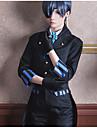 Inspirat de Black Butler Ciel Phantomhive Anime Costume Cosplay Costume Cosplay Alte Cravată Geacă Vestă Bluză Pantaloni Mănuși Șosete