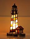 Tiffany Ministil Bordslampa Till Glas 110-120V 220-240V