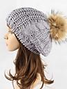 Pentru femei Mată Stl Beanie / Slouchy Beretă Pălărie Floppy Căciulă Ski