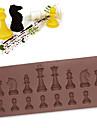 Pepparkaksformar För Godis Kakor Tårta Choklad Kaka Kiselgel GDS (Gör det själv) Nyår Födelsedag Kreativ Köksredskap Bakning Verktyg