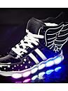 Băieți Pantofi PU Primăvară Toamnă Confortabili Adidași pentru Casual Auriu Negru Rosu
