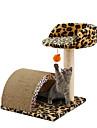 Pisici Paturi Artă Mixă Hârtie & Hârtie de Lucru Manual Animale de Companie  Pentru Linii Leopard Leopard Pentru animale de companie