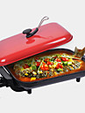 kök krom 220v elektrisk grill grill värmekokare