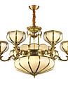 Rustik/Stuga Traditionell/Klassisk Ministil Hängande lampor Glödande Till Vardagsrum Sovrum Matsalsrum 3600lm 110-120V 220-240V Glödlampa