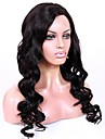 Obehandlad hår Spetsfront Peruk Brasilianskt hår Lockigt Med babyhår 130% 150% 180% Densitet Afro-amerikansk peruk Korta Lång Mellanlängd