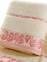 Färsk stil Badhandduk, Jacquard Överlägsen kvalitet 100% bomull Enkel 100% bomull Handduk