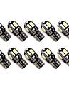 10pcs Mașină Becuri 1.6W SMD 5630 8 Bec Semnalizare For Παγκόσμιο Toți Anii