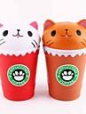 LT.Squishies Jucării din Cauciuc / Alină Stresul Mâncare & Băutură / Pisici / Animal Ameliorează ADD, ADHD, anxietate, autism / Birouri