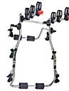 Fixation de Coffre pour Velo Ajustable / Reglable, Portable, 3 velos Cyclisme Acier inoxydable Argent