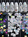 Nail Glitter Sequins Irregular Style Classic Glamorous & Dramatic Sparkle & Shine High Quality Daily Nail Art Design
