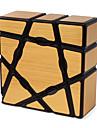 Rubiks kub Alien 1*3*3 Mjuk hastighetskub Magiska kuber Pusselkub Genomskinligt klistermärke Konkurrens Present Metallisk Flickor