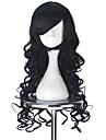 Perruques de lolita Lolita Noir Princesse Perruque Lolita  75 CM Perruques de Cosplay Halloween Perruque Pour