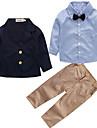 Băieți Set Îmbrăcăminte Mată Imprimeu Bumbac Petrecere Zilnic Ieșire Școală Simplu Vintage Draguț Casual Activ Bleumarin