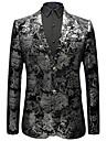 Bărbați Mărime Plus Size Blazer Sofisticat - Imprimeu