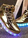 Αγορίστικα Παπούτσια PU Άνοιξη Ανατομικό / Φωτιζόμενα παπούτσια Αθλητικά Παπούτσια Περπάτημα Κορδόνια / Γάντζος & Θηλιά / LED για Ασημί / Μπλε / Ροζ