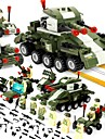 BEIQI Building Blocks Construction Set Toys Educational Toy 484 pcs Military compatible Legoing Stress and Anxiety Relief Decompression Toys Parent-Child Interaction Classic & Timeless Military