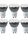 YWXLIGHT® 6pcs 7W 600-700lm GU10 LED-spotlights 48 LED-pärlor SMD 2835 Varmvit Kallvit Naturlig vit