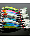 10 pcs Fishing Lures Minnow Floating Sea Fishing Fly Fishing Bait Casting / Ice Fishing / Spinning / Jigging Fishing / Freshwater Fishing / Carp Fishing