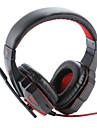 Plextone PC780 Sur l'oreille Bandeau Câblé Ecouteurs Plastique Jeux Écouteur Isolation du bruit Avec Microphone Avec contrôle du volume