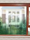 Fereastră de film și autocolante Decor Contemporan Simplu PVC Autocolant Geam Mat