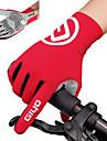 Aktivitet/Sport Handskar Pekvantar Cykelhandskar Anti-halk Andningsfunktion Microfiber Lycra Spandex Vägcykling Cykling / Cykel Herr