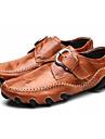 Bărbați Pantofi Piele Primăvară / Toamnă Pantofi de scufundări Oxfords Negru / Roșu Închis / Maro Deschis