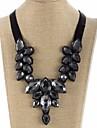 Guler Picătură Declarație Dulce Negru 46 cm Coliere Bijuterii Pentru Serată Stradă