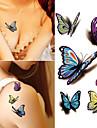 10 pcs Временные тату Временные татуировки Мультипликационные серии Искусство тела рука