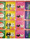 Vacanță Autocolante, etichete Tag-uri - 20pcs Crăciun Cut Cut Autocolante Iarnă