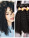 6 Bundles Indian Hair Curly 10A Virgin Human Hair Natural Color Hair Weaves / Hair Bulk Hair Care Human Hair Extensions Natural Color Human Hair Weaves Soft Hot Sale Comfortable Human Hair Extensions