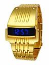 Ανδρικά Αθλητικό Ρολόι Ψηφιακό ρολόι Χαλαζίας Μαύρο / Ασημί / Χρυσό Ανθεκτικό στο Νερό Ψηφιακό Πολυτέλεια Μοντέρνα - Χρυσό Μαύρο Ασημί